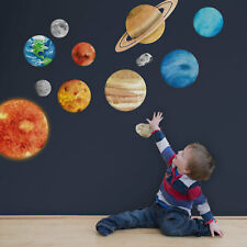 Solar system wall stickers | Space themed wall stickers | Wall decals