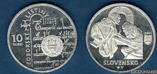 Slovaquie 2011 10 Euro Acte de Zobar - Slovensko
