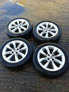 Vauxhall Adam Mk1 16'' Inch Alloy Wheels With Tyres 195/55r16 4 Stud 2013-2020±