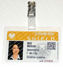 Marvel Agents of S.H.I.E.L.D May Melinda ID Badge Cosplay Costume Prop Halloween