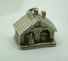 Vintage Heavy Solid Silver Weather Vain House Charm