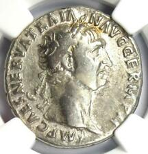 Roman Trajan AR Cistophorus Silver Coin 98-117 AD - Certified NGC Fine