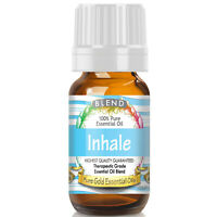 Inhale Blend Essential Oil (100% Pure, Natural, UNDILUTED) 10ml