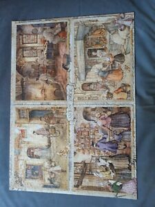 JUMBO 1000 PC. JIGSAW PUZ ANTON PIECK  'BAKERS FROM THE 19th CENTURY'  COMPLETE