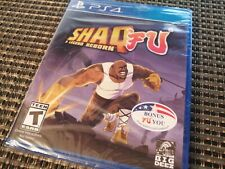 Shaq Fu: A Legend Reborn (PlayStation PS4 Game) Brand NEW Sealed SHIPS TODAY