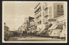 REAL PHOTO Postcard RENO Nevada/NV  Jewelry & Piano Stores & Waldorf Club 1930's