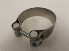 Leo Vince 63mm exhaust silencer clamp stainless  5608D63  Fits 61-64mm