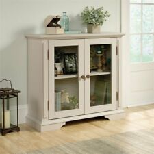 Sauder Grange Display Cabinet CBS 419941 Cobblestone Finish