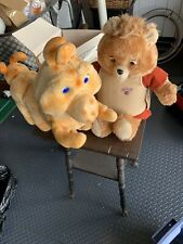 Teddy Ruxpin, Grubby, Fob, Clothes And Book Lot