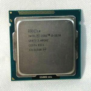 Intel Core i5-3570  3.40GHz 6MB LGA1155 Desktop Processor CPU SR0T7