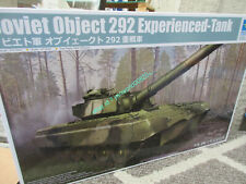 TRUMPETER 09583 1/35 SCALE  SOVIET 292 OBJECT EXPERIENCED TANK  MODEL KIT