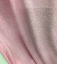 3Mts Terry Towelling Baby Pink  X150cm for shorts  garments massage table covers