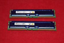 RAM RIMM, Samsung 2 x 256Mb (512 Mb Total). MR16R082GBN1-CG6