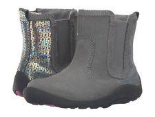 NIB STRIDE RITE Boots Estefana Gray Sequin 5 M