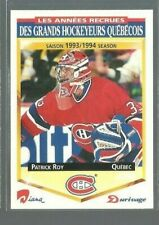 1993-94 Durivage Score #17 Patrick Roy/Montreal (ref 91556)