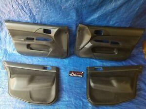Mitsubishi Evolution Evo8/9 OEM Front & Rear Door Panels Cards 2002-2006