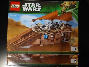 Manual Notice Lego 75020 Jabba sail barge