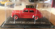 "DIE CAST "" PEUGEOT 203 - CASABLANCA - 1960 "" 1/43 TAXI SCALA 1/43"