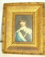 """19th C Small Victorian Gilt Picture Frame, Old Photo 6 1/2"""" BY 8"""""""