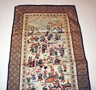 Extraordinary Master Crafted Antique CHINESE SILK TAPESTRY Textile  100 CHILDREN