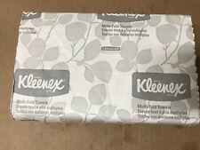 "Kleenex 02046 Multi-Fold Paper Towels, Convenience, 9.2x9.4"", White, 150 Towels"