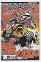 Marvel Comics Rocket Raccoon Variant Cover #8 Incentive 1:25 Justin Ponsor