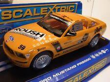Scalextric Ford Mustang 500 C rehagen Racing #59 c2888 autorennbahn slotcars 1:32