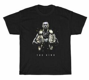 Conor McGregor Boxing Notorious MMA UFC Gildan T-Shirt Black Unisex S-3XL TK1025