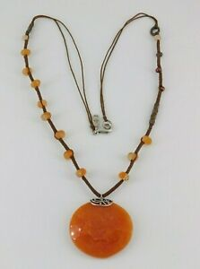 Silpada 925 Sterling Silver & Copper Moroccan Sunset Necklace N2453