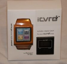 ICVRD IPOD NANO 6TH GEN DIGITAL WATCH BAND FITNESS WORKOUT HOLDER ORANGE