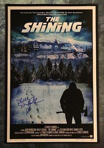 GFA The Shining '80 Movie SHELLEY DUVALL Signed 12x18 Photo PROOF S2 COA