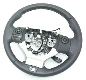 2014-2020 Lexus CT200h ZWA10 F Sport Steering Wheel Leather Black OEM Genuine