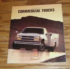 Original 1995 Chevrolet Commercial Truck Sales Brochure 95 Chevy