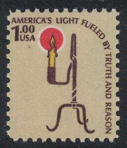 Scott 1610- $1 Rush Lamp- Americana Series- MNH 1979- mint unused