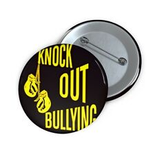 Knock out Bullying - Pin Buttons