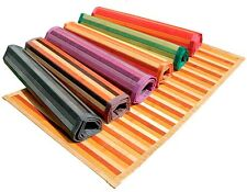 Tappeto in bambù bamboo legno moderno cucina degradè passatoia antiscivolo letto
