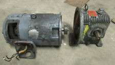 Louis Allis 3 Hp Dc Motor Model 3274675001 With 101 Gear Reducer