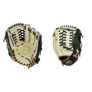 UA Genuine Pro 2.0 Field Glove 11.75in UAFGGP2-1175MT-Cream/Black/Carmel - RHT