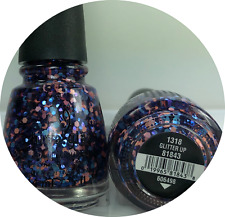 China Glaze Nail Polish Glitter Up 1318 Chunky Multi Glitter Clear Base Lacquer