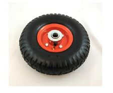 2 x RED Heavy Duty Pneumatic Sack Truck Trolley Wheel / Go cart / RM019 / Tyres