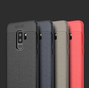 Leather Slim TPU Case For Samsung Galaxy S8 S7 S9 S10 Plus Note 9 8 Thin Cover