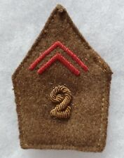 Patte de col uniforme WWII France 1939/1940 2° REGIMENT (ZOUAVES?) à identifier
