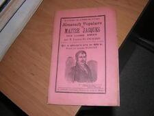 1935.almanach populaire Maitre Jacques. Blanchard.Niort