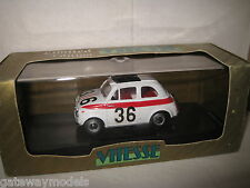 1.43 EARLY VITESSE FIAT 500 SPORT CATANIA ENNA 1960 #36 GREAT MODEL CAR