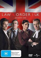 """Law & Order UK: Season One"" (2 Discs, 2009, PAL, 320 mins) *LIKE NEW*"