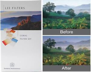 *STOCK CLEARANCE* Lee Filters 100x150mm Graduated Hard Coral Set