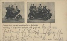 SPORTS CAR COURSE D'AUTOMOBILES PARIS-BERLIN 1901