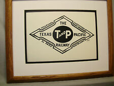 Texas and Pacific Railway  Railroad logo by Howard Fogg