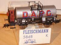 Fleischmann 5848 K KESSELWAGEN D.A.P.G. Altona KPEV Epoche 1/2,SoSe neuwertig