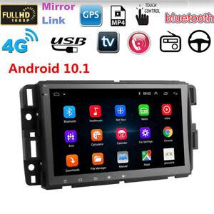 "8"" Android 10.1 Car Stereo GPS Wifi For GMC Chevrolet Chevy Yukon Sierra Acadia"